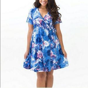 Agnes & Dora Nightingale Dress, blue, L